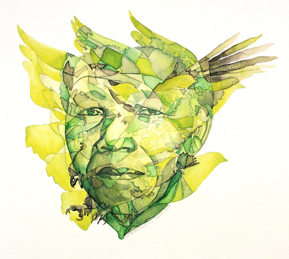 南非杰出女画家阿丽塔·迈克尔罗特之二:三幅曼德拉画像 - 六一儿童 - 译海拾蚌