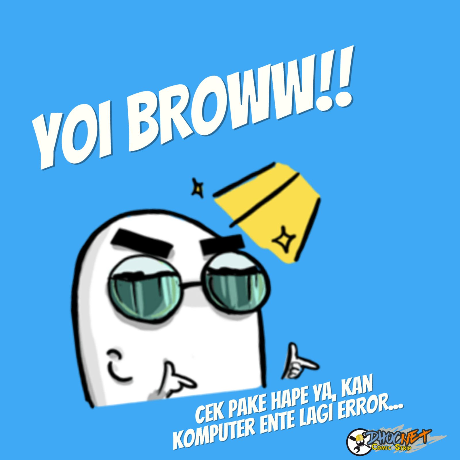 Makanya Pakai Yang Ini!!! - Baca web comic gratis di strip.dhocnet.work