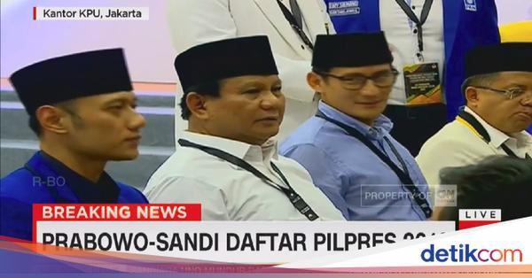 AHY Prabowo Sandi