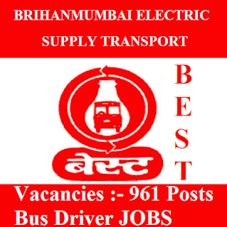 Brihanmumbai Electric Supply and Transport, BEST, Maharashtra, Bus Driver, 10th, freejobalert, Sarkari Naukri, Latest Jobs, Hot Jobs, best logo