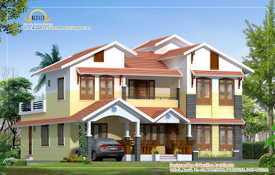 Contemporary Villa design  - 257 Sq M (2770 Sq. Ft) - January 2012