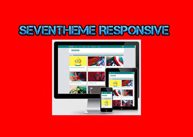 Download Seventheme Premium Responsive Blogger Template