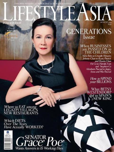 Grace Poe Lifestyle Asia