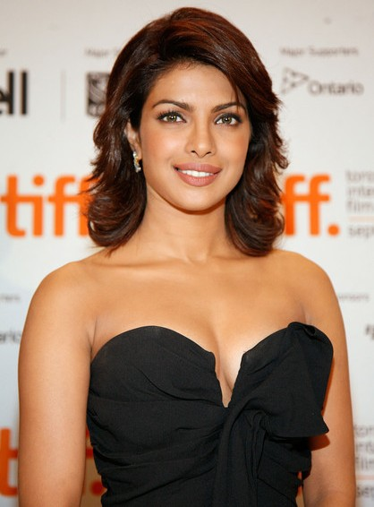Priyanka Chopra Spicy Stills in Black Top
