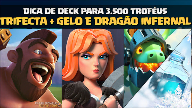 Deck de Corredor, Gelo e Dragão Infernal - Deck do Leitor