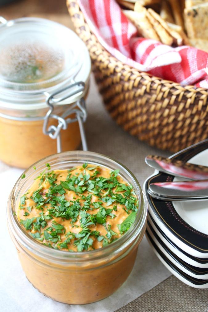 Pimentón Potted Shrimp #shrimp #pate #rillettes #pimenton