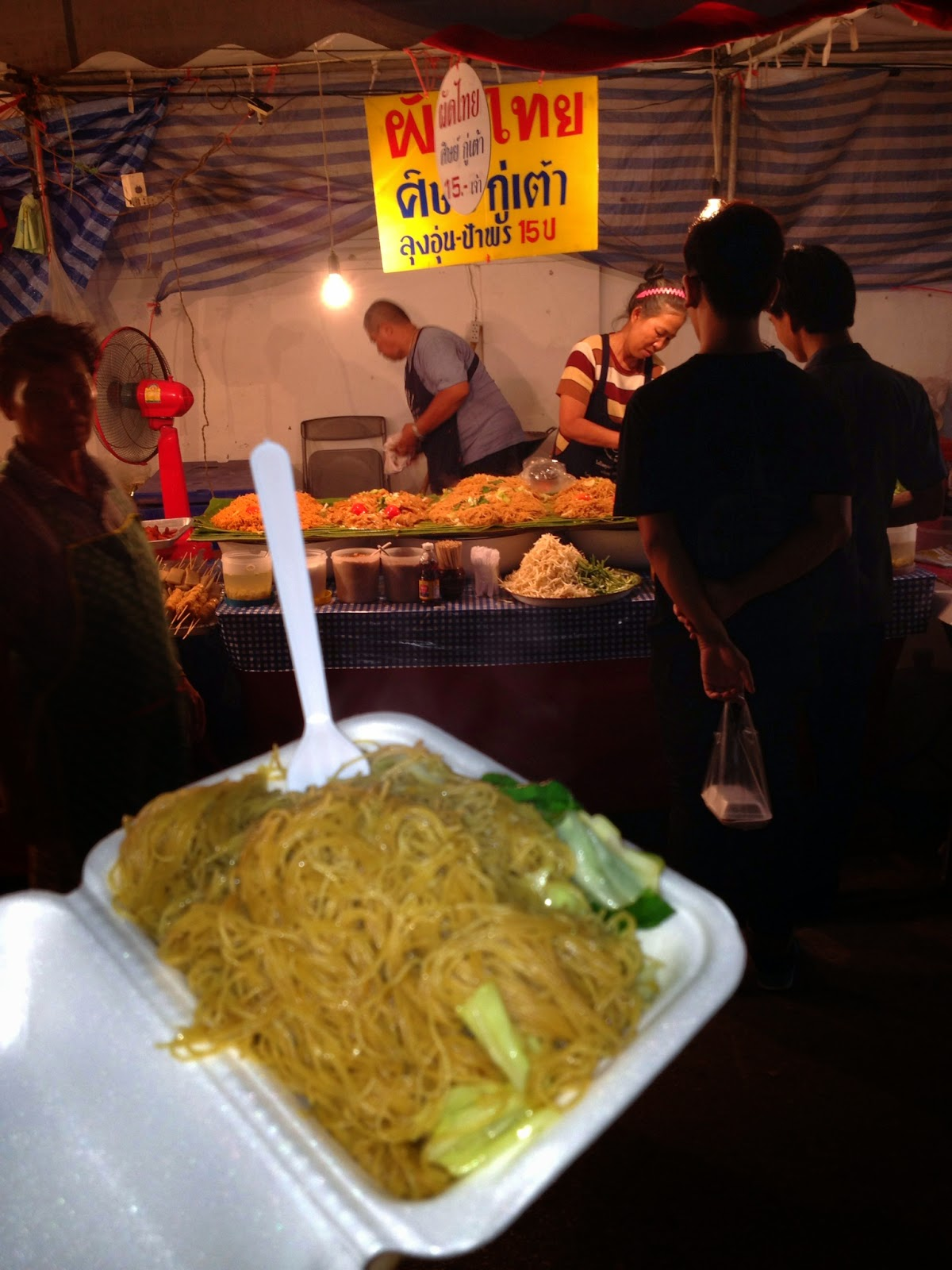 Chiang Mai - Noodles for 15 baht
