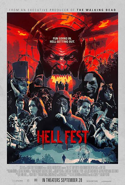 Hell Fest 2018 horror movie poster