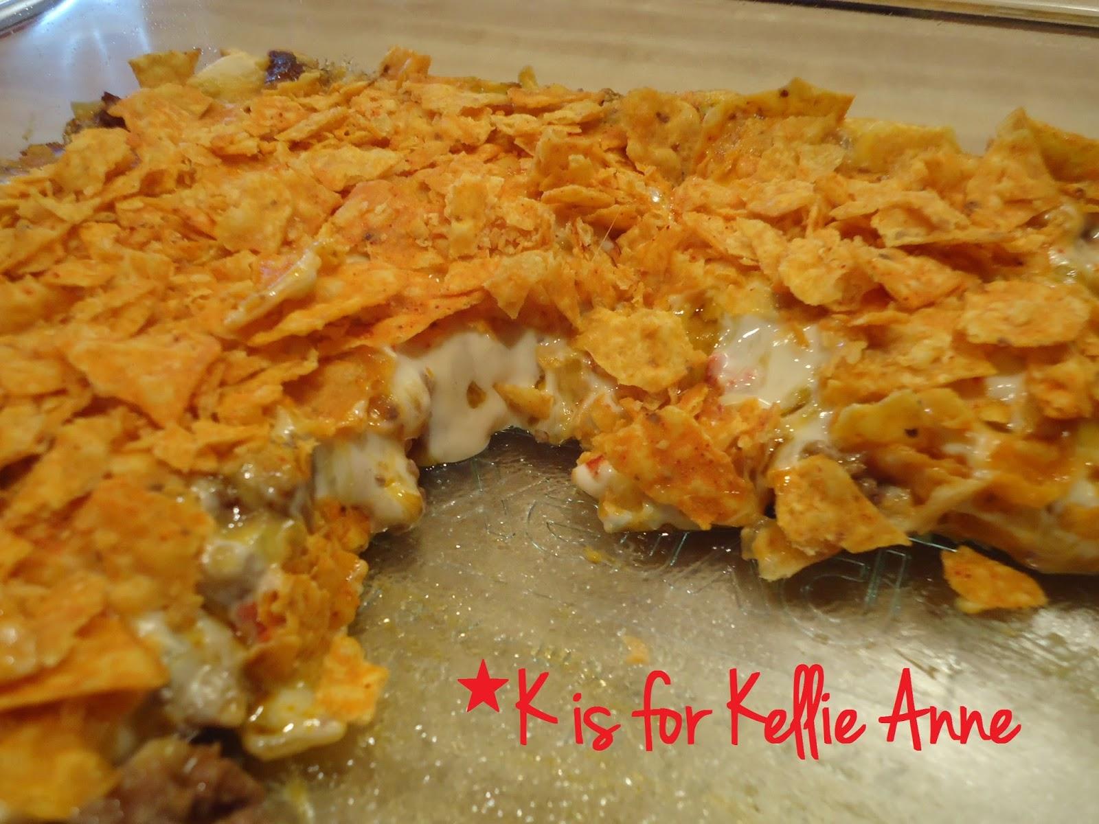 K is for Kellie Anne: DORITOS® Taco Bake