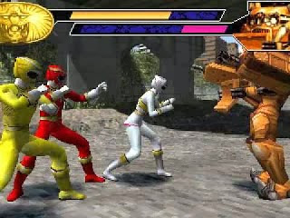 Download Game Power Rangers Ninja Storm PS1