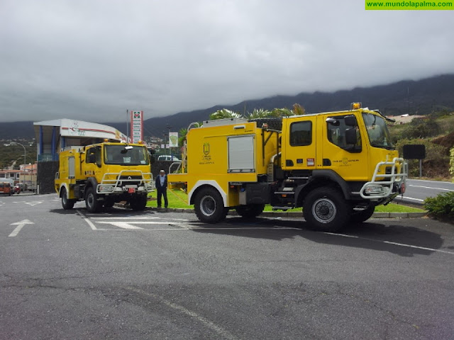 El Cabildo saca a licitación la adquisición de dos autobombas forestales pesadas para el Servicio de Medio Ambiente