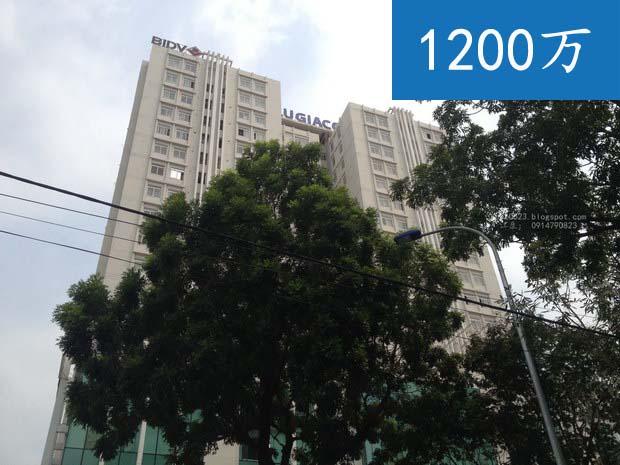 第十一郡房屋出租 | 胡志明市房屋出租在Lu Gia公寓 | 三房 ,华人区,下边是BIDV银行
