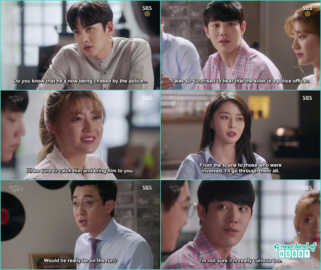 ji wook invite hyun soo at the dinner - Suspicious Partner: Episode 17 & 18 korean Drama