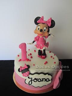 A Minnie no 1º aniversário da Joana