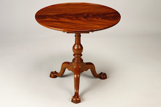 Chippendale Tea Table For Sale