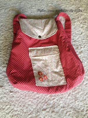 mochila infantil de tecido