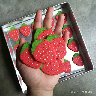Ide Resep Masak Kue Kering Cookies Strawberry