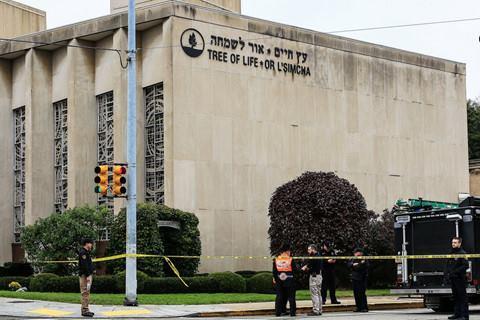 Khu giáo đường nơi xảy ra vụ xả súng