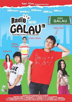 Poster Film Radio Galau FM