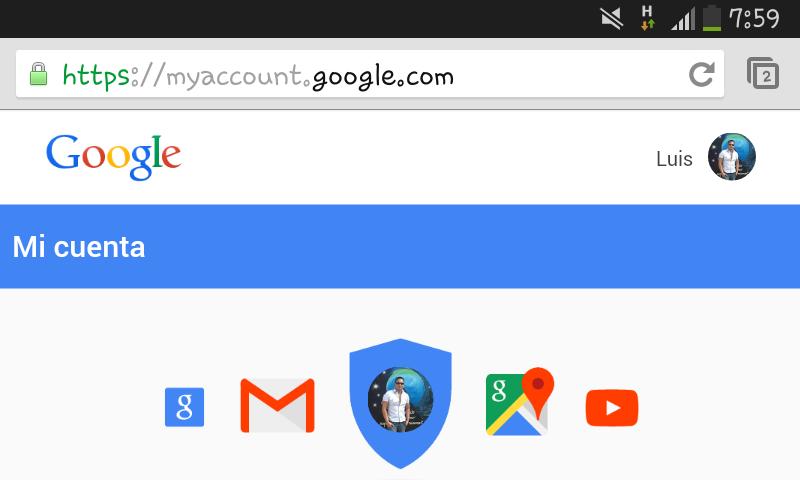 ¿Cómo proteger mi cuenta de Google?