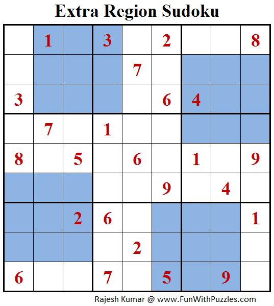 Extra Region Sudoku (Daily Sudoku League #149)