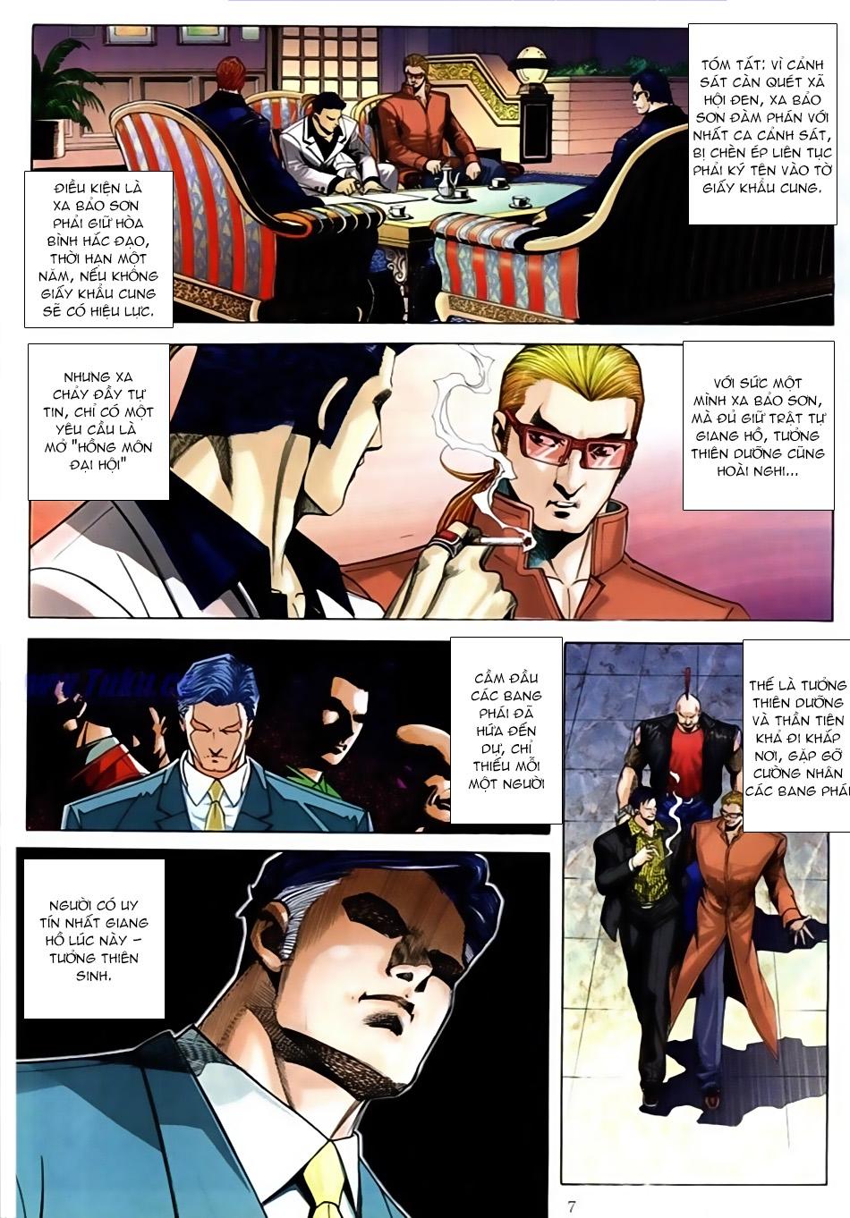 Người Trong Giang Hồ chapter 586: lưỡi chiến quần hùng trang 3