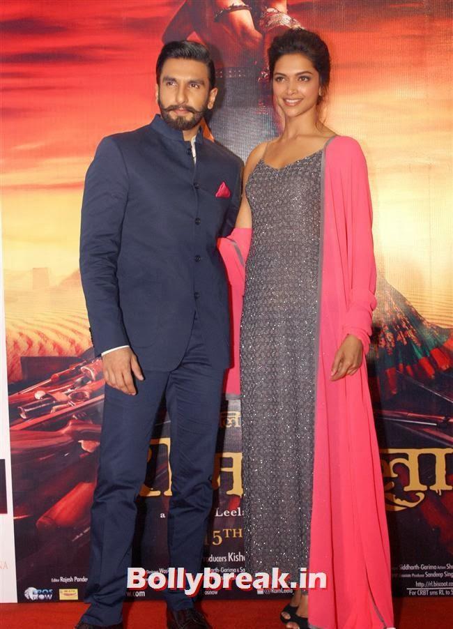Ranveer Singh and Deepika Padukone, Deepika Padukone & Ranveer Singh Promoting Ram Leela
