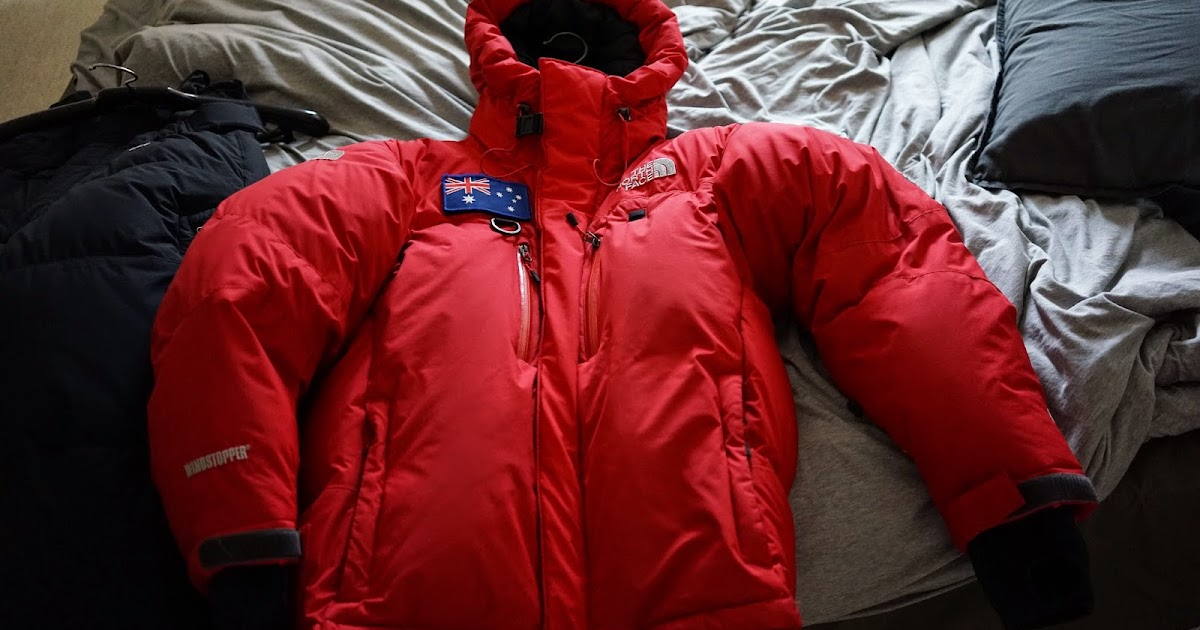329afd3e38 Gilian Lee s Mountaineering Adventures  The North Face (TNF) Himalayan Parka  (Windstopper version) (size Small)