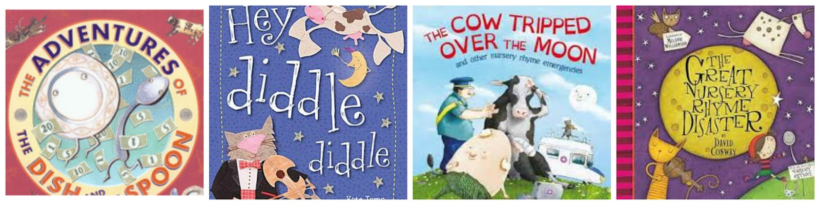 Diddle By Kate Toms The Adventures Of Dish And Spoon Mini Grey A Book With Same Le Cow Jumped Over Moon Jeanne Willis