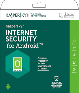 Antivirus Kaspersky for Android Smartphone