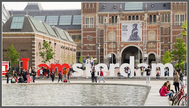 Museumplein Amsterdam (Países Bajos)