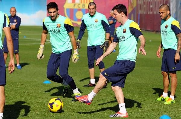 El FC Barcelona rechaza 17 millones por su camiseta de entrenamiento