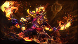 Ember Spirit DOTA 2 Wallpaper, Fondo, Loading Screen