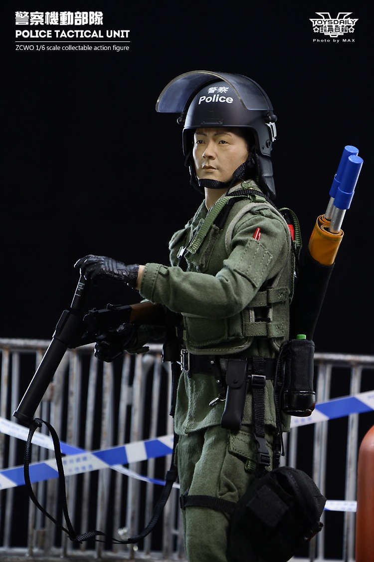 OSR: ZCWO Hong Kong Police tactical Unit Figure - J Sir
