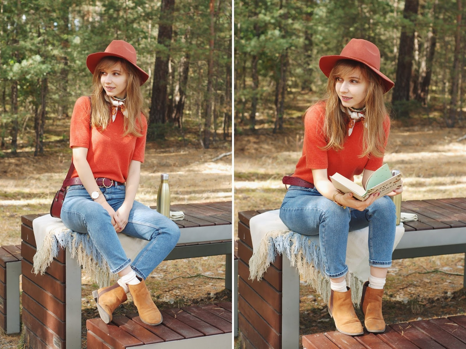 Jesienny look | rude dodatki | mom jeans