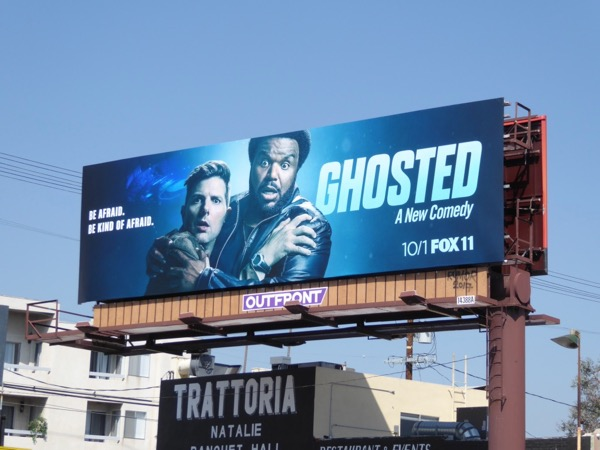 Ghosted series premiere billboard