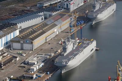 Prancis Berang, Usai Polandia Sebut Mesir Jual Kapal Perang Mistral ke Rusia