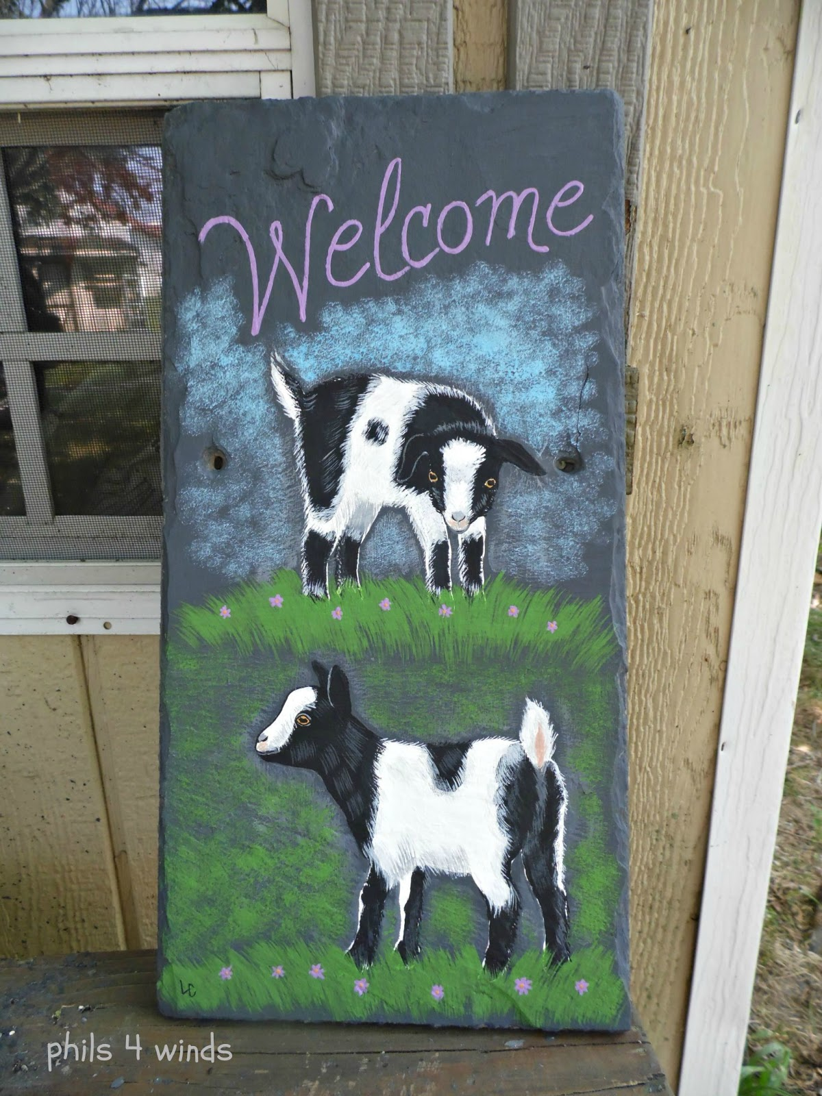 Phils4winds Art Amp Farm Painted Signs Jewelry Ornaments