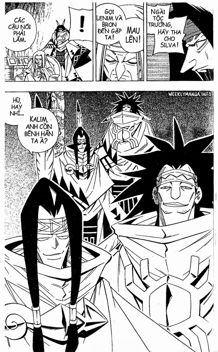 Shaman King [Vua pháp thuật] chap 208 trang 8