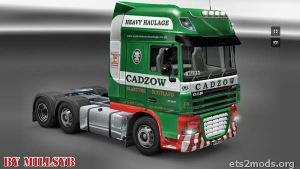Cadzow DAF Cab Skin