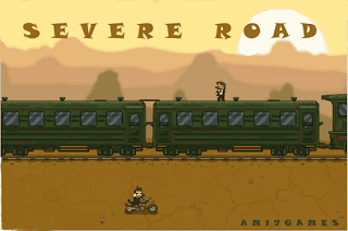 Severe, road, game, is, among, the, best, free, action, games, to, play, online, start, out, with, a, dangerous, adventure, on, a moving, train,