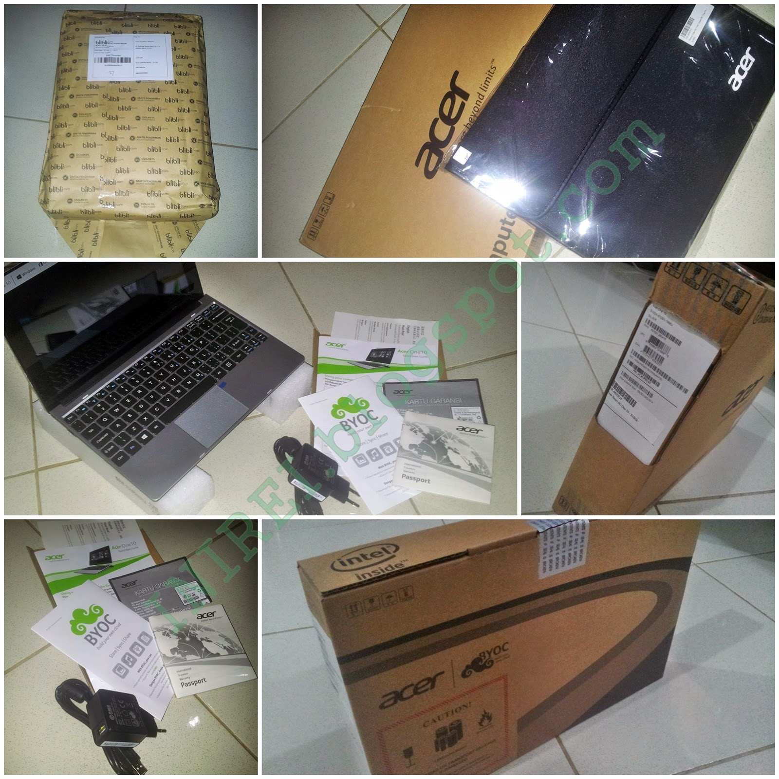 Acer One 10 Sales Package
