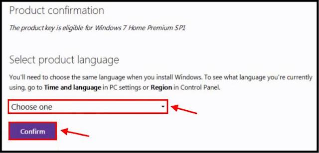 حدد لغة نظام التشغيل Windows 7