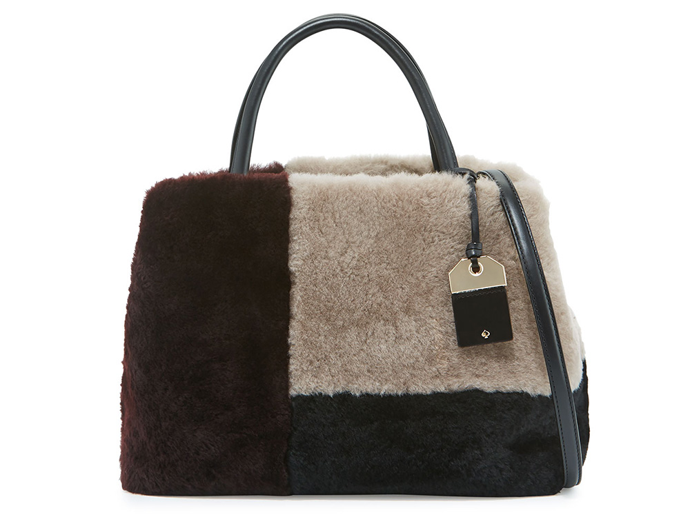 Kate Spade Massey Court Luxe Shearling Bag Best Bags for Fall Winter 2016