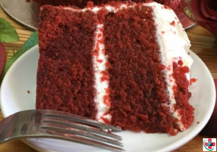 Red velvet cake with icing recipe