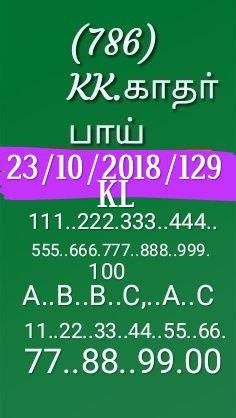 Kerala lottery guessing Sthree sakthi SS-128 on 23.10.2018 by KK