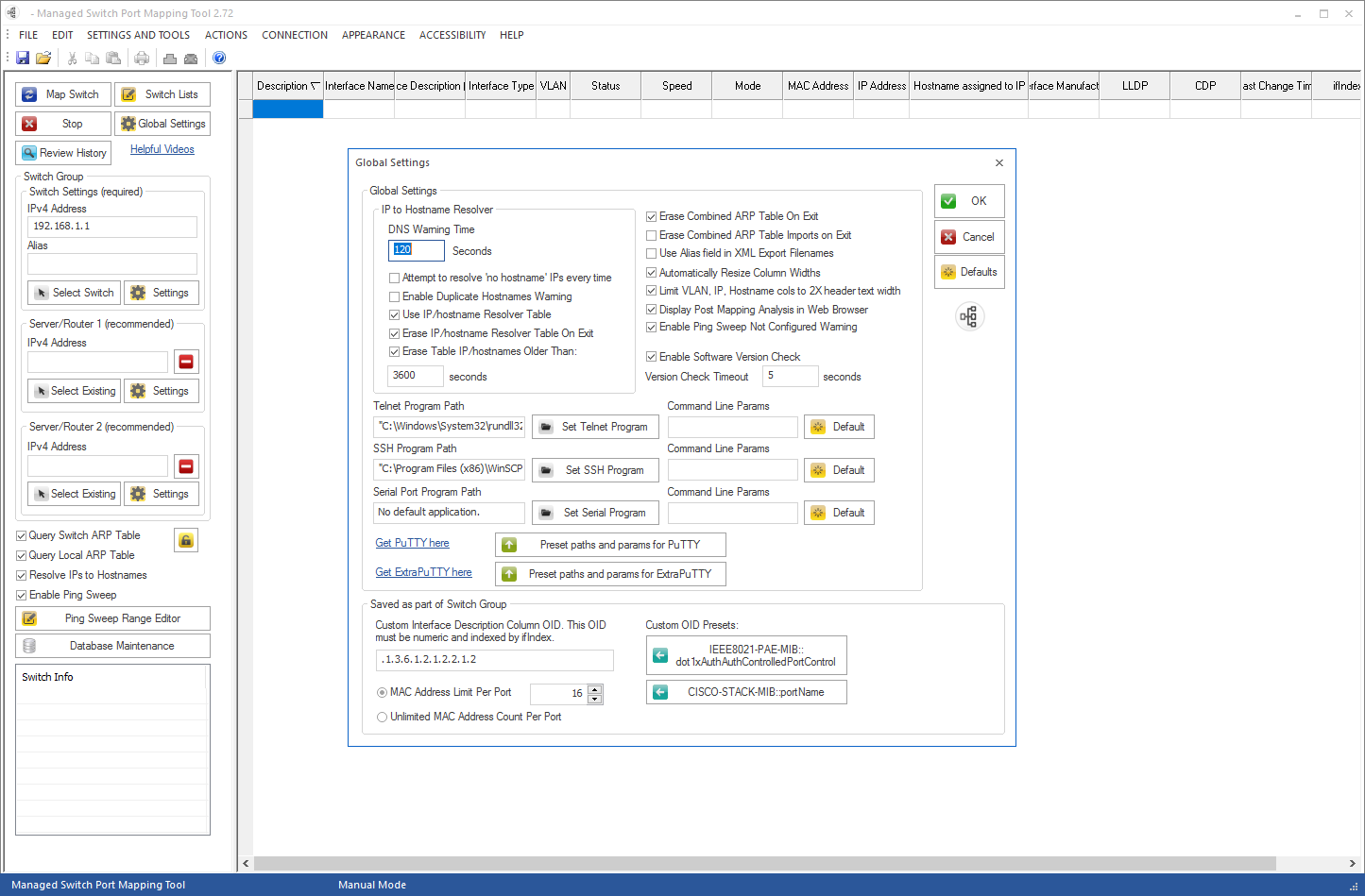 Getting To Know Your Network With Managed Switch Port Mapping Tool - Windows network mapping tool
