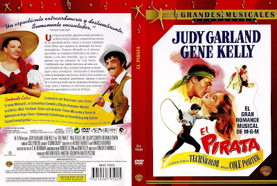 Cover dvd, caratula: El pirata | 1948 | The Pirate | Judy Garland | Gene Kelly
