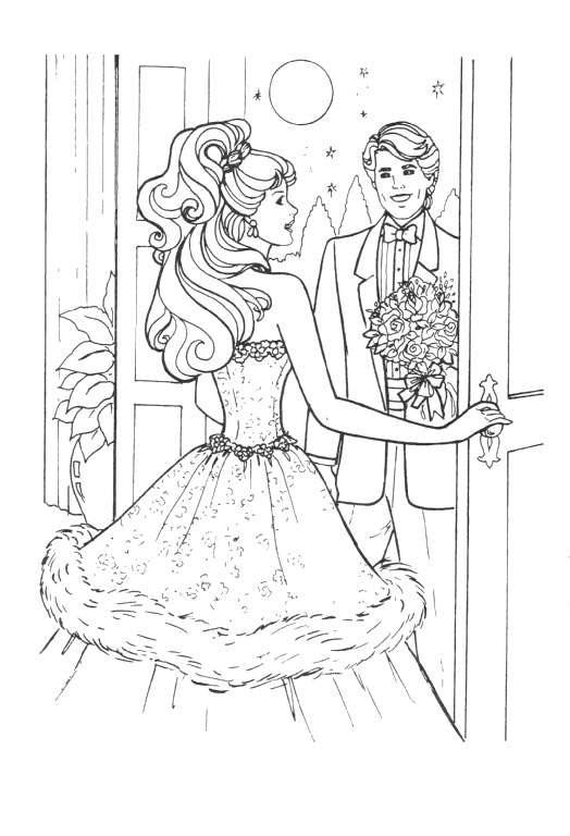 Viel Spaß Barbie Malvorlagen in der Papier- und Sie ~ Ausmalbilder ...