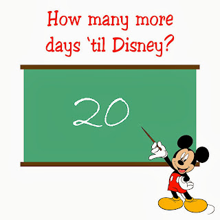20 days until disney countdown